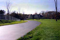 Western Chipseal driveway